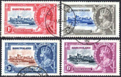 A2619 SG 11/14 Set 1935 Silver Jubilee Set - VFU