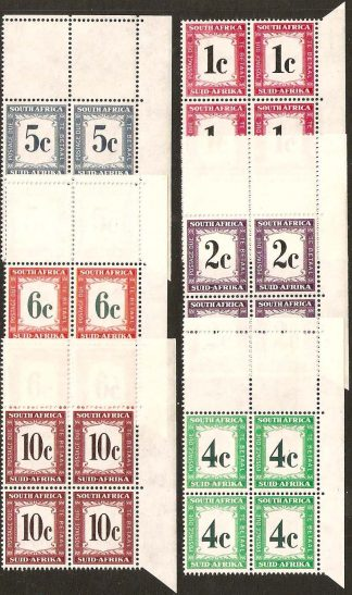 South Africa 1961 Postage Dues