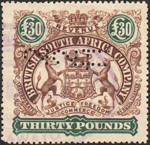 British South Africa Company & Rhodesia