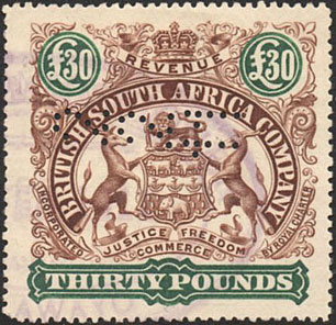 British South Africa Company & Rhodesia