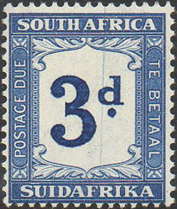 South Africa Postage Due D28w
