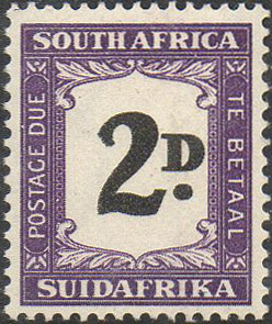 South Africa Postage Due D36a