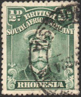 1922-4 ½d Admrial SG 283