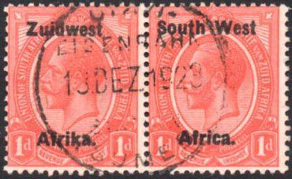 OTAVI TSUMEB railway postmark