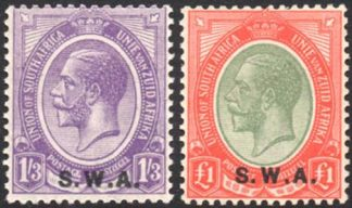 South West Africa SG 56/7