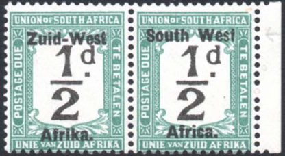 South West Africa Postage Due SG D6