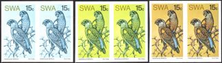 South West Africa 1974 Rare Birds