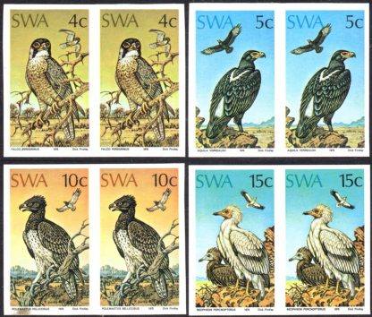 South West Africa 1975 Birds of Prey
