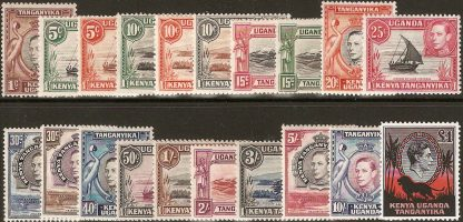 KUT 1938-54 definitives set