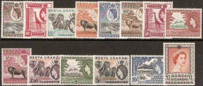 1954 QEII definitives set