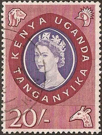 1960 20s QEII definitive