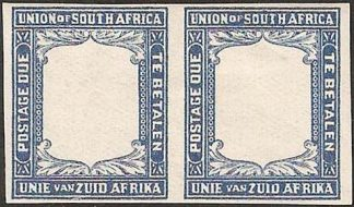 South Africa Postage Dues 1922 proof