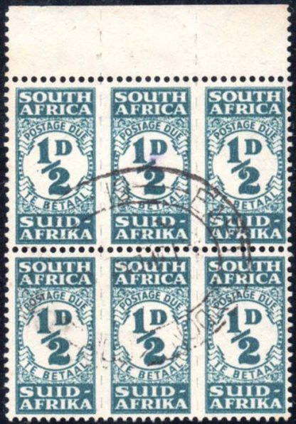 South Africa Postage Due D30