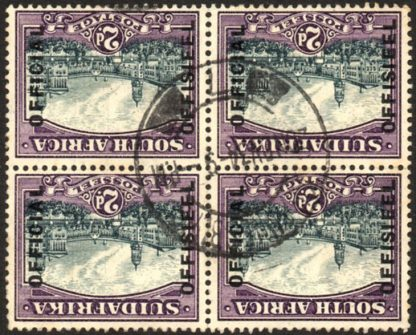 South Africa Official stamp, O14w