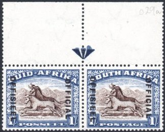 South Africa Official stamp O38