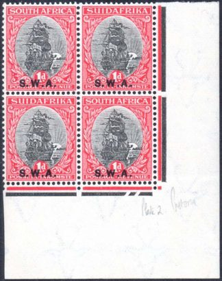 South West Africa stamps SG 59