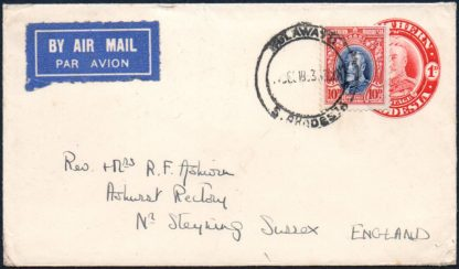 Southern Rhodesia 1933 postal history