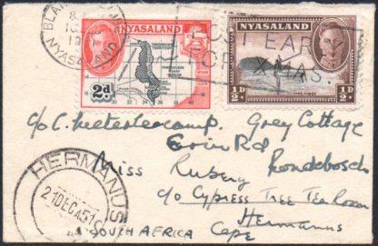 Nyasaland 1951 cover