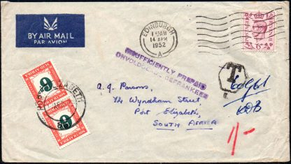 South Africa D43 postage dues