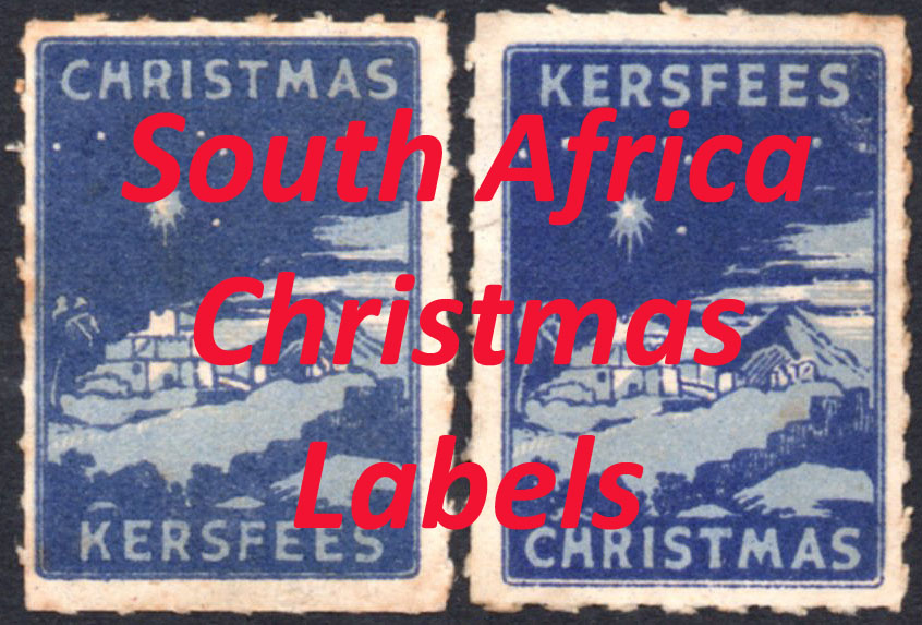 South Africa Christmas Labels