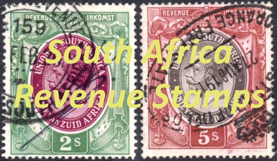 Revenue Stamps of South Africa 1913-52