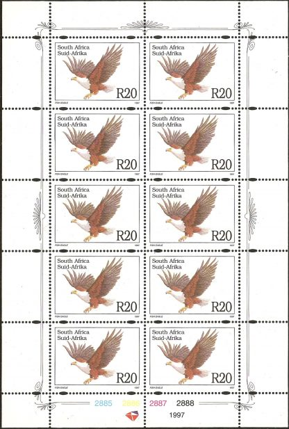 South Africa 1997 R20 Fish Eagle