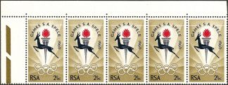 1969 South Africa Games 2½c SG 278