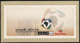 South Africa 2003 World Cup Football label