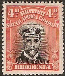 1922-4 4d Admiral SG313