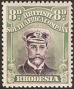 1922-4 8d Admiral SG315