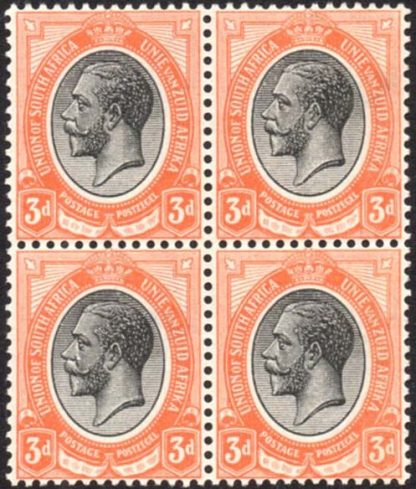 South Africa 1913-24 3d SG8