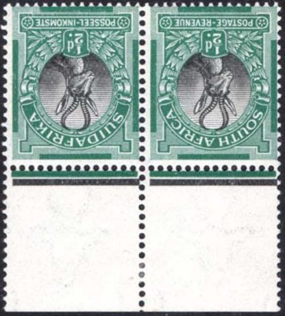 1927 ½d wmk inverted SG30cw