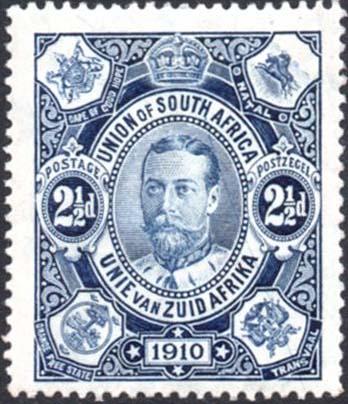 1910 2½d SG 2 plate scratch