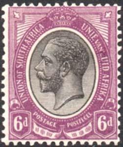 1913-24 6d missing Z variety