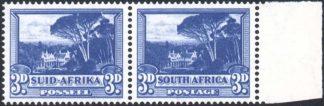 South Africa 1947-54 3d SG 117a