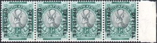 South Africa 1930-47 ½d dropped Official