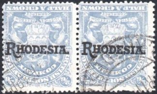 1909-12 2s6d inverted overprint