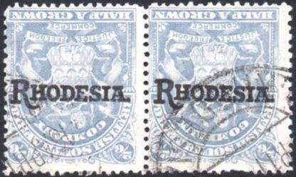 1909-12 2s6d inverted overprint