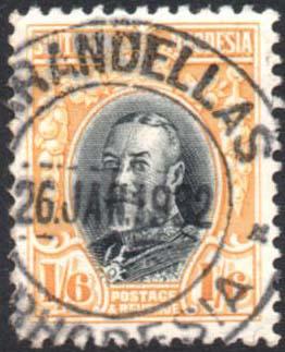 Southern Rhodesia Marandellas postmark