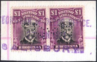 Rhodesia Admiral SG 278