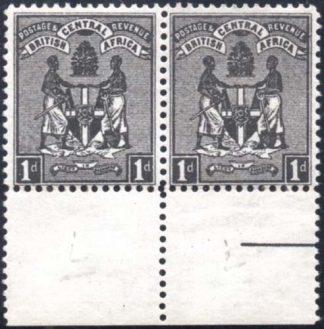 BCA 1895 1d black SG 21