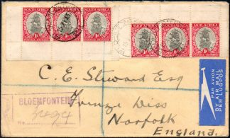1937 booklet pane used on cover