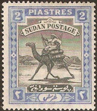 Sudan 1902-21 2pi SG 25
