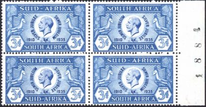South Africa 1935 Silver Jubilee 3d