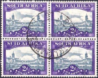 South Africa 1945-7 2d SG 107b