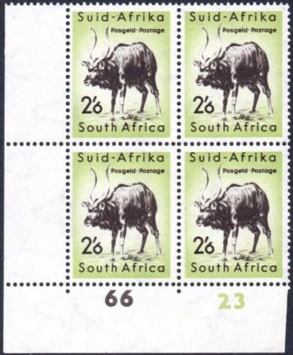 South Africa 2s6d cylinder block
