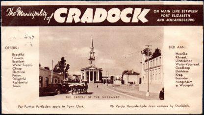 South Africa Cradock advert envelope
