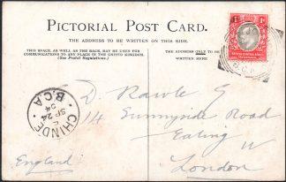 BCA 1904 postcard Fort Johnston postmark