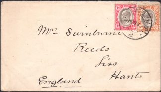 Transvaal 1902 Late Fee cover