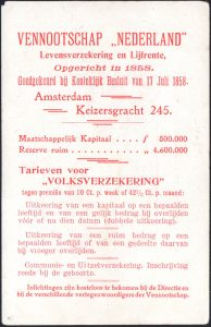 Paul Kruger life insurance flyer